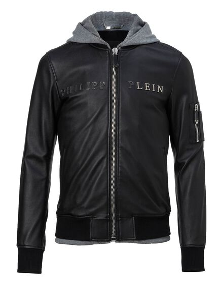 Leather Bomber Urban