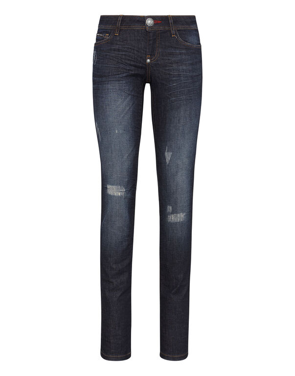"slim fit denim ""holy chic"""