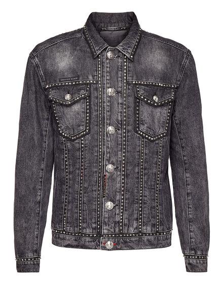 Denim Jacket Studded