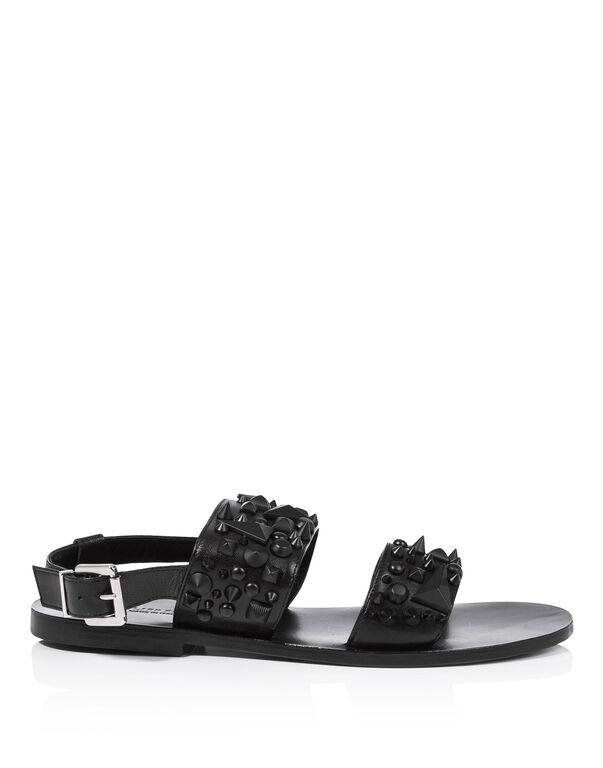 """Sandals Flat """"hot June"""""""