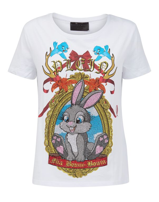 "T-shirt Round Neck SS ""Blow"" Ibiza"