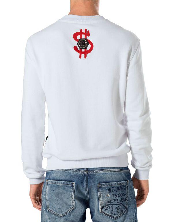 "Sweatshirt LS ""Blue money"""