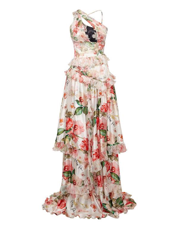 Long Dress Flowers