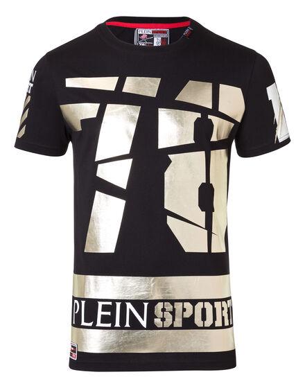 T-shirt Round Neck SS Gold Kurt