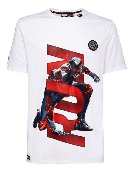 T-shirt Round Neck SS Man City