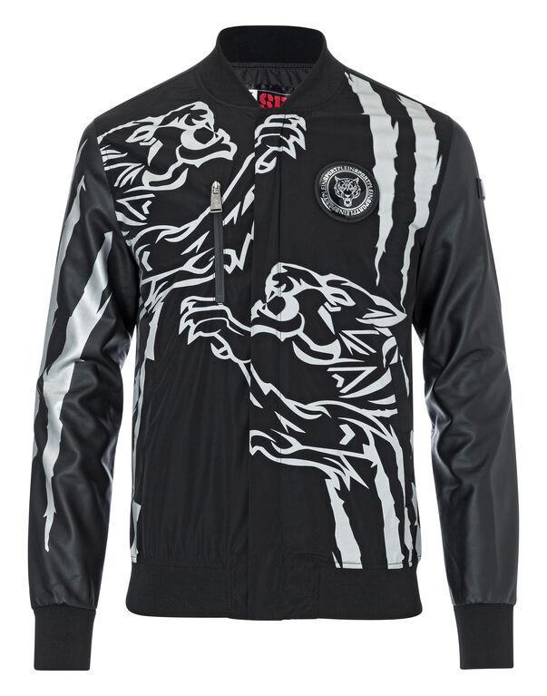 "Nylon Jacket ""Double tiger"" -P"