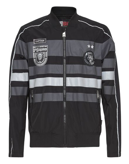 NylNylon Jacket Junior black