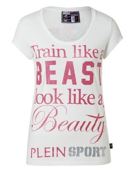 T-shirt Round Neck SS Workout Black