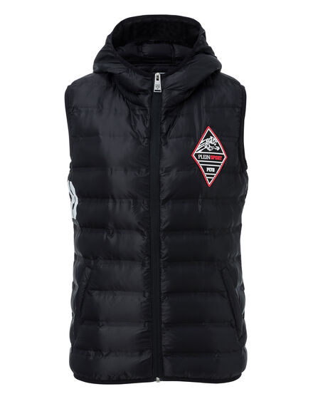 Down Jacket Vest Upps Stand