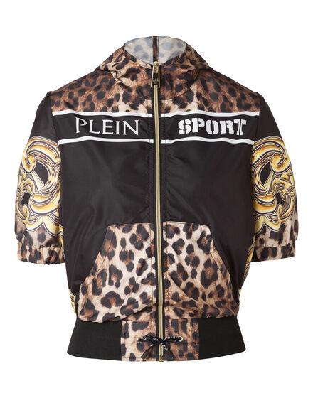 Hoodie Sweatjacket Gold Empire