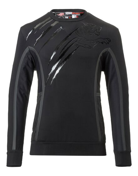 Sweatshirt LS Silver Garnett