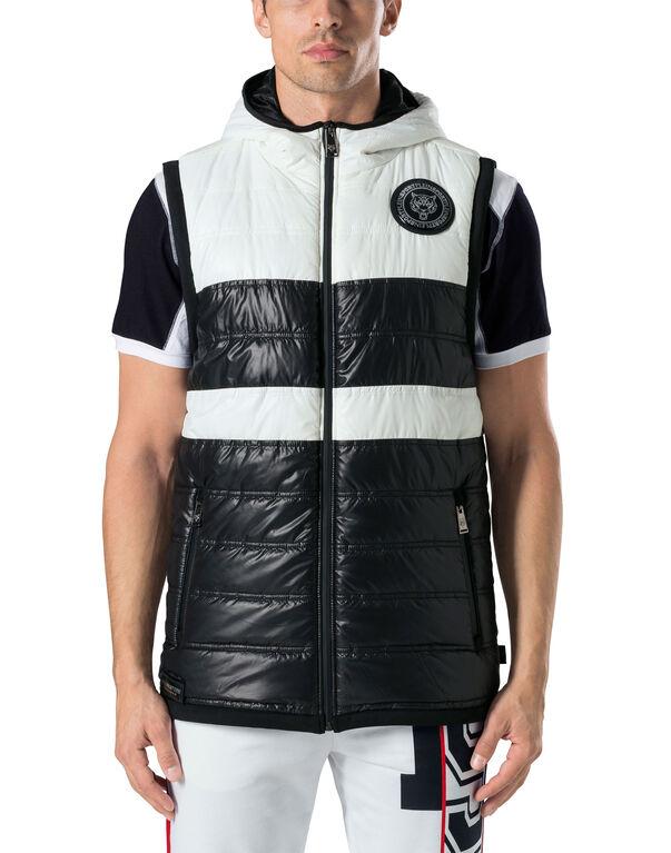 """Down Jacket Vest """"Let`s go"""" -P"""