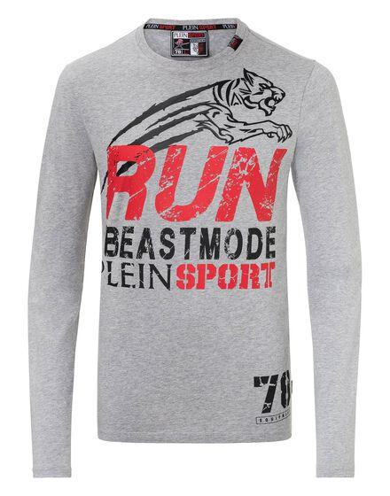 T-shirt Round Neck LS Beast