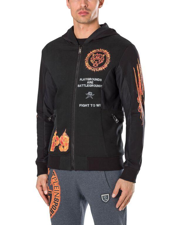 """Hoodie Sweatjacket """"Fire"""""""