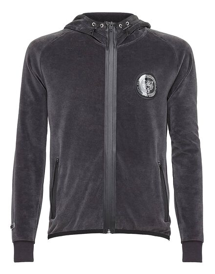Hoodie Sweatjacket Basic one