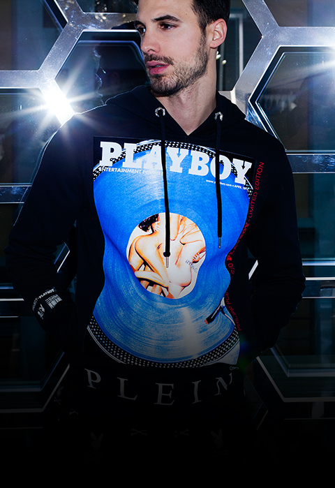 playboy x plein<br>capsule collection<br><b>40% off</b>