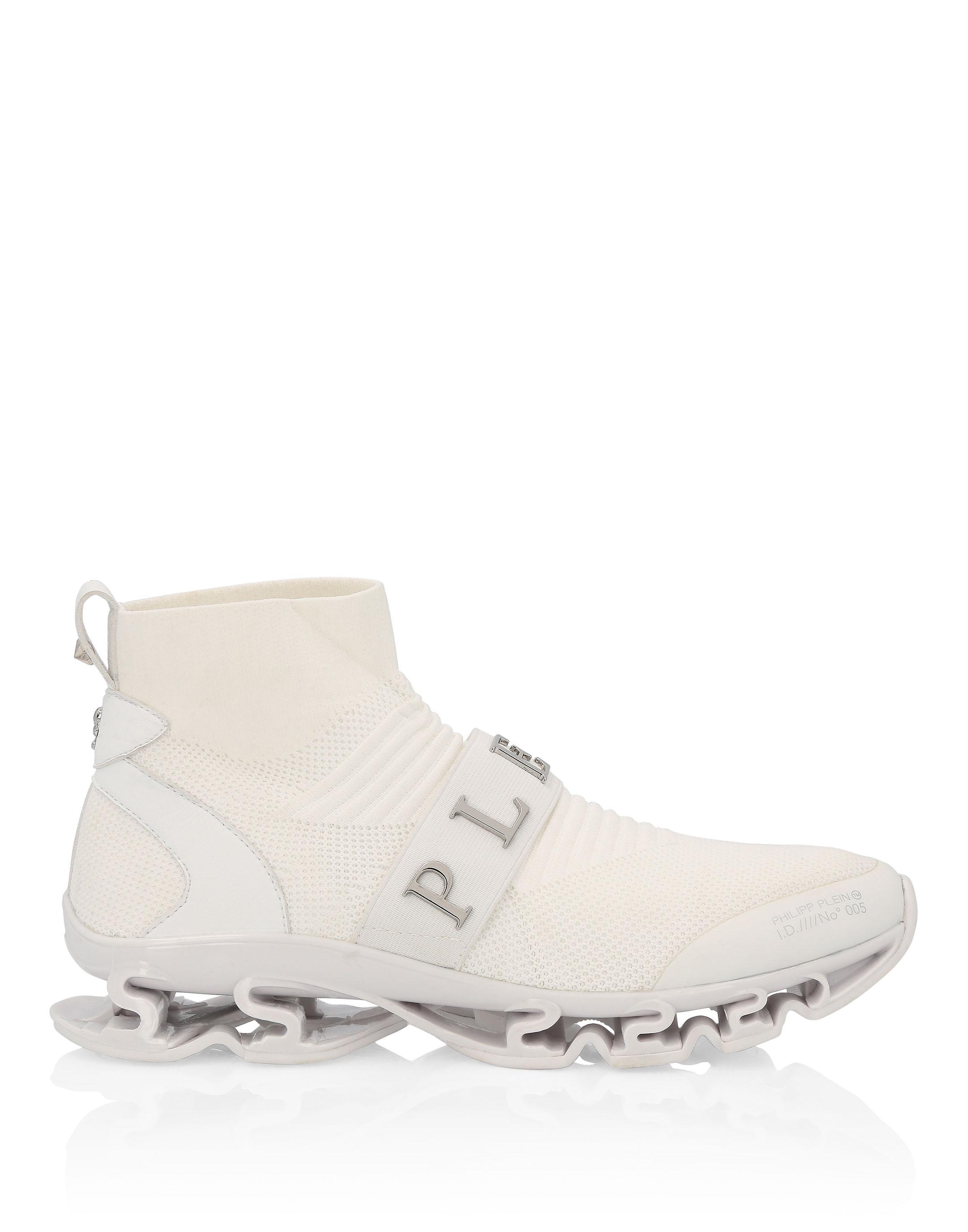 Philipp Plein ribbed skate sneakers in 2019 | Sneakers