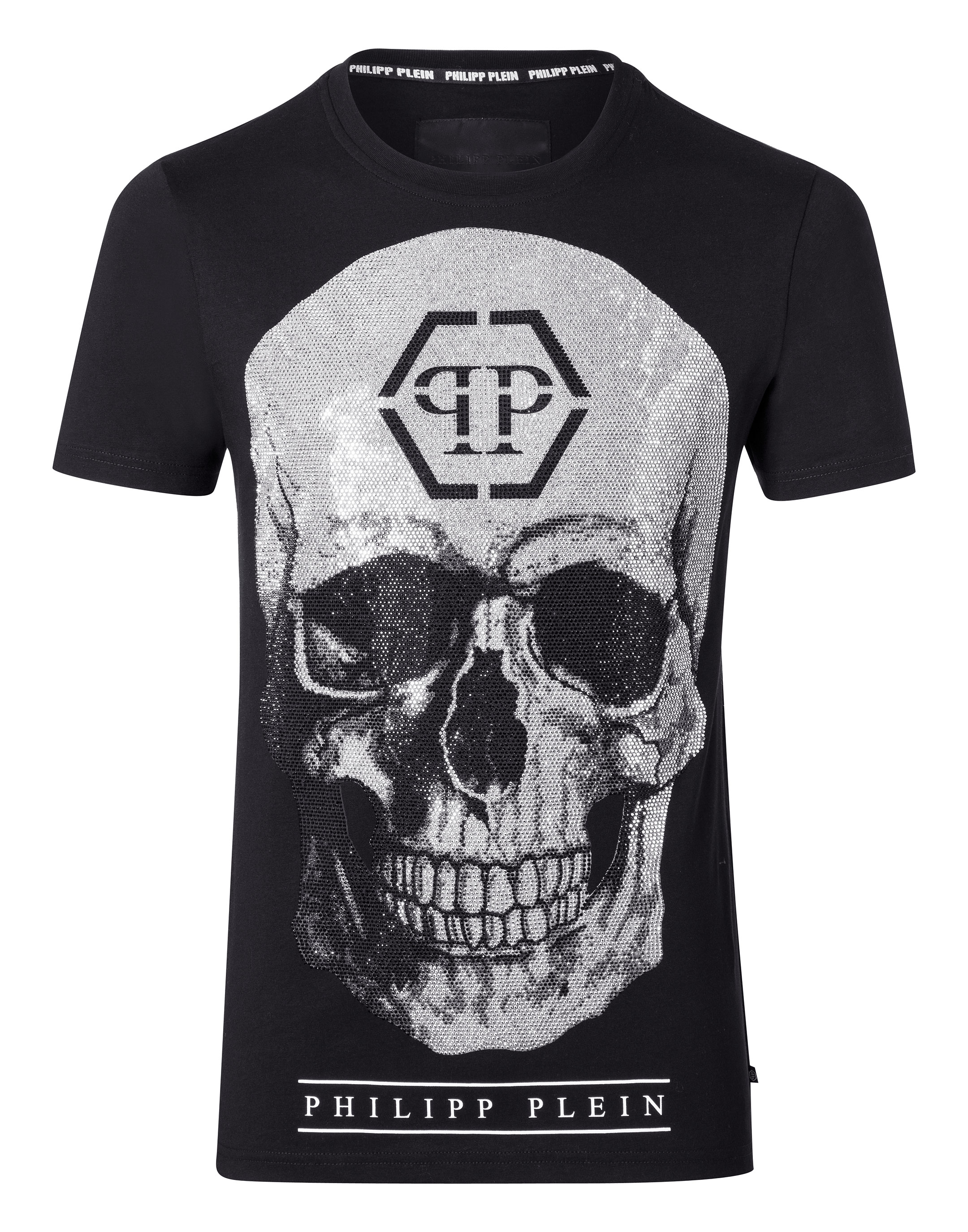 t shirt round neck ss connell philipp plein outlet. Black Bedroom Furniture Sets. Home Design Ideas