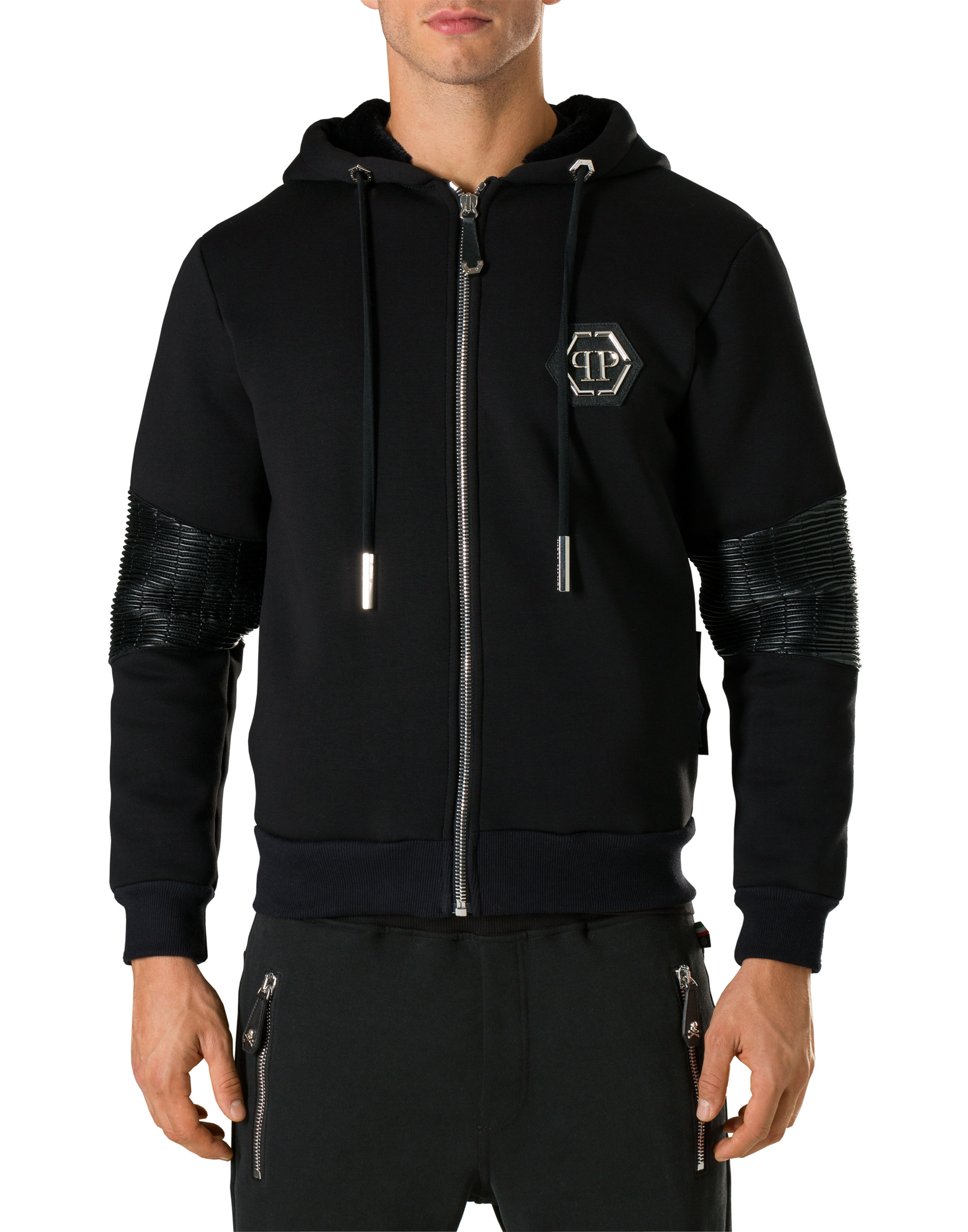 sweatshirt ls fur sweat philipp plein outlet. Black Bedroom Furniture Sets. Home Design Ideas