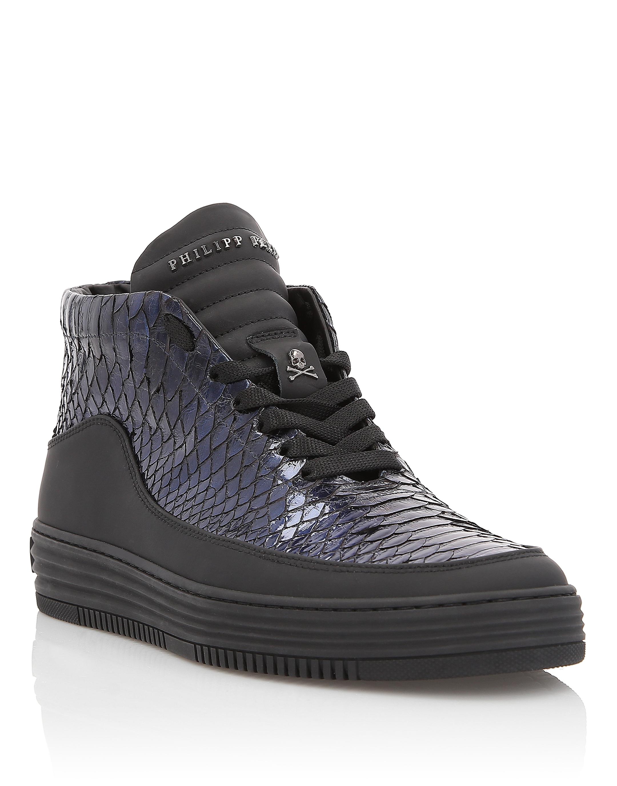 "Philipp Plein Hi-Top Sneakers ""my friend"""