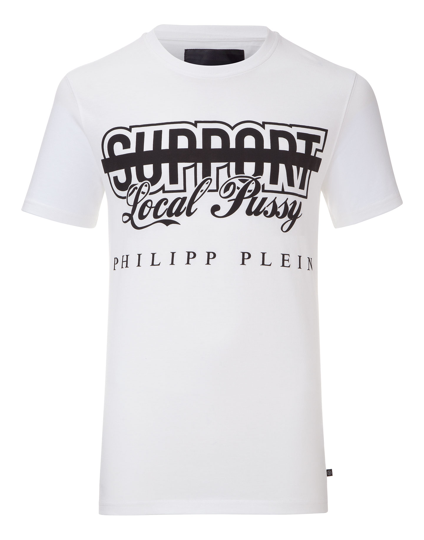 """t-shirt """"support local pussy"""" 