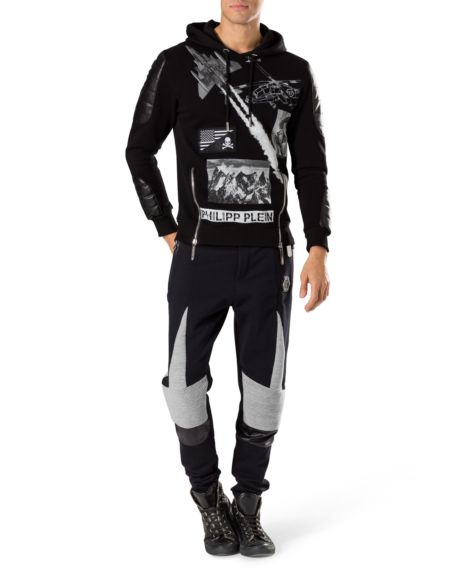 sweat pants bold calibri philipp plein outlet. Black Bedroom Furniture Sets. Home Design Ideas