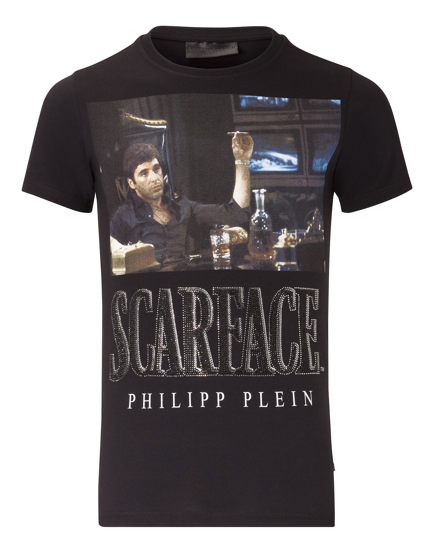 t shirt scarface philipp plein outlet. Black Bedroom Furniture Sets. Home Design Ideas