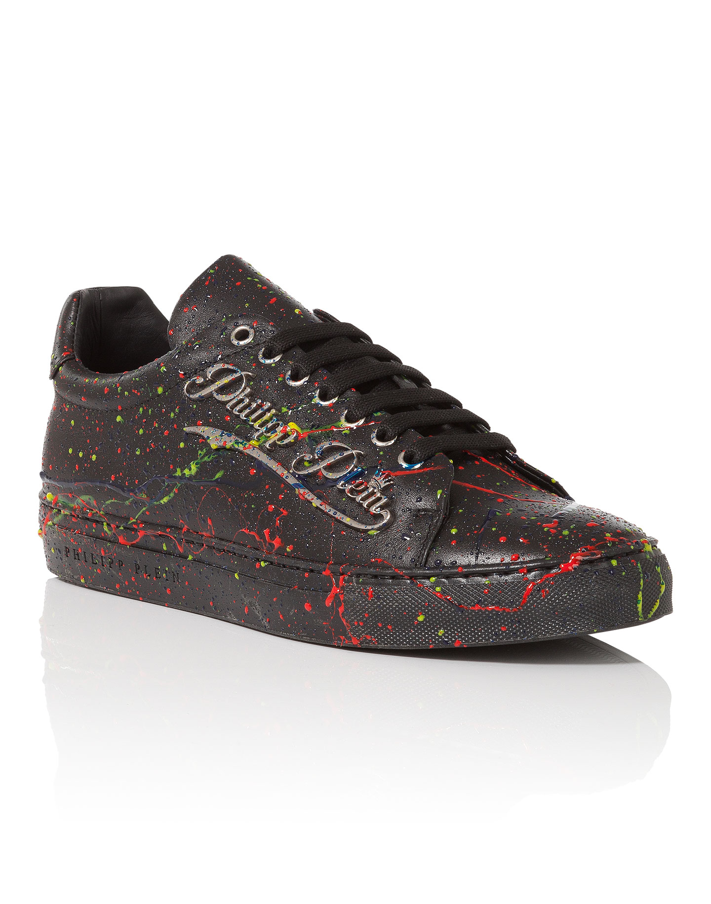 PHILIPP PLEIN. Lo-Top Sneakers