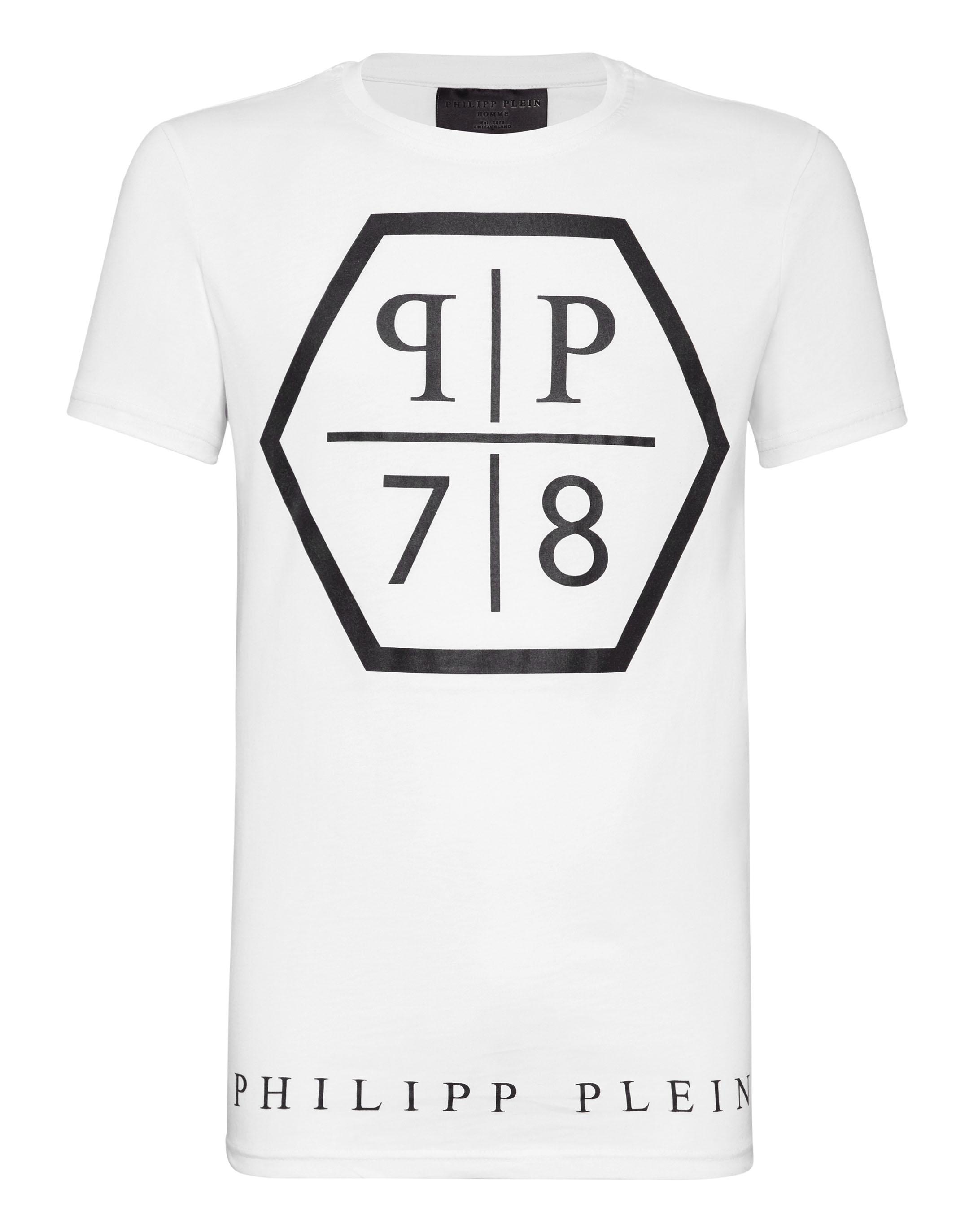 2da1707c826c T-shirt Round Neck SS PP   Philipp Plein Outlet