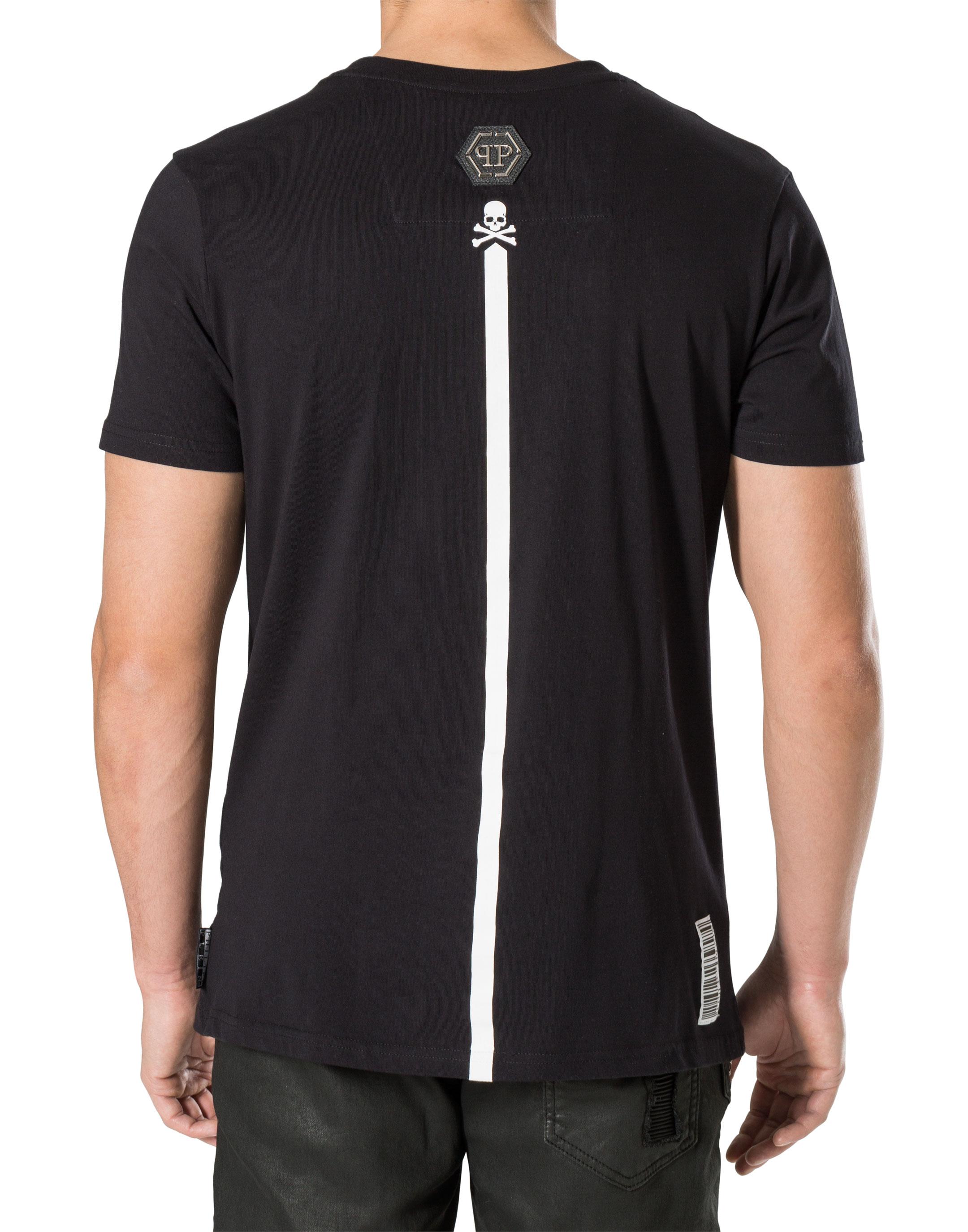 0877f7b106dab7 T-shirt Round Neck SS