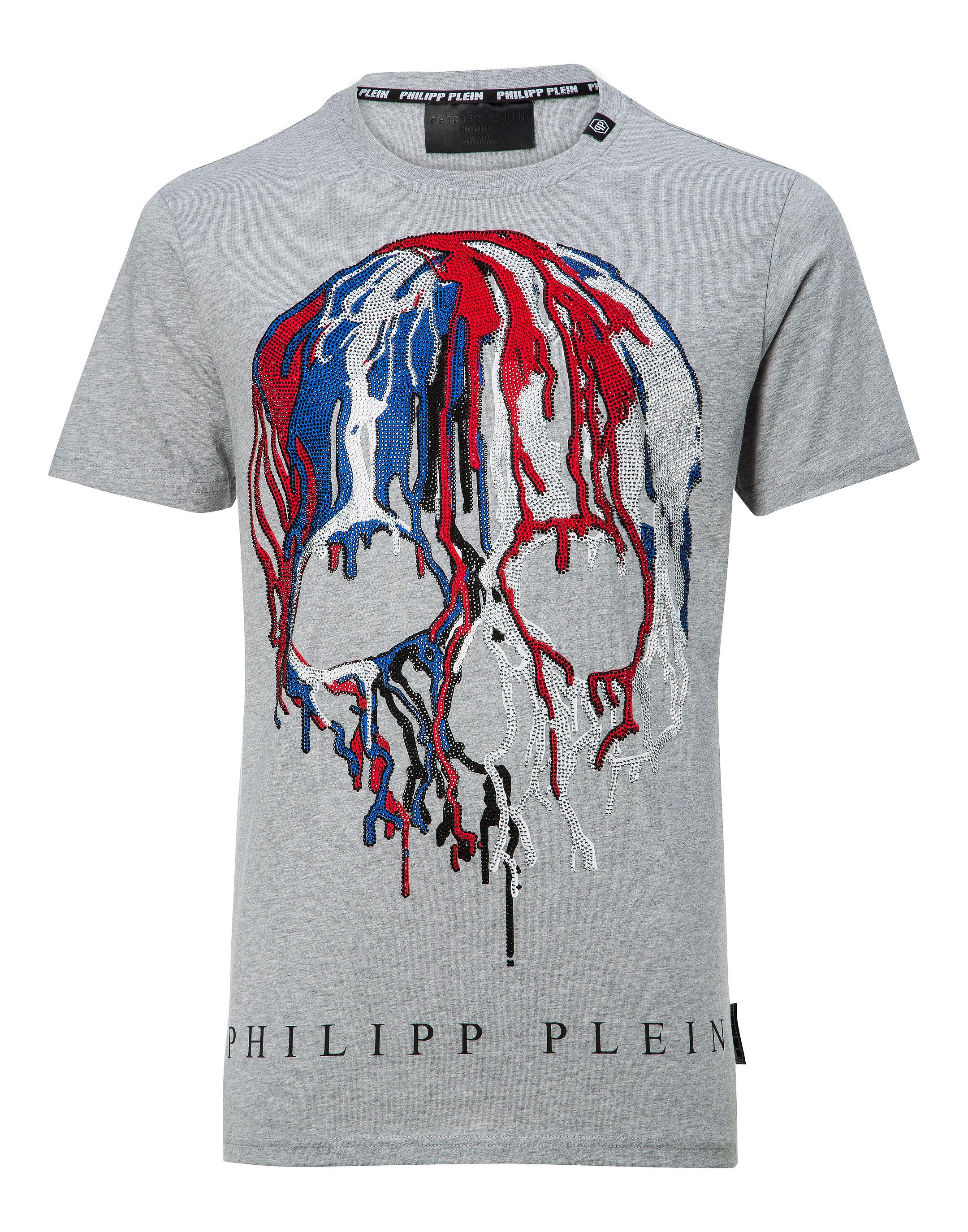 Ss Neck Shirt Round CesarPhilipp Outlet T Plein 0yvmN8wOnP