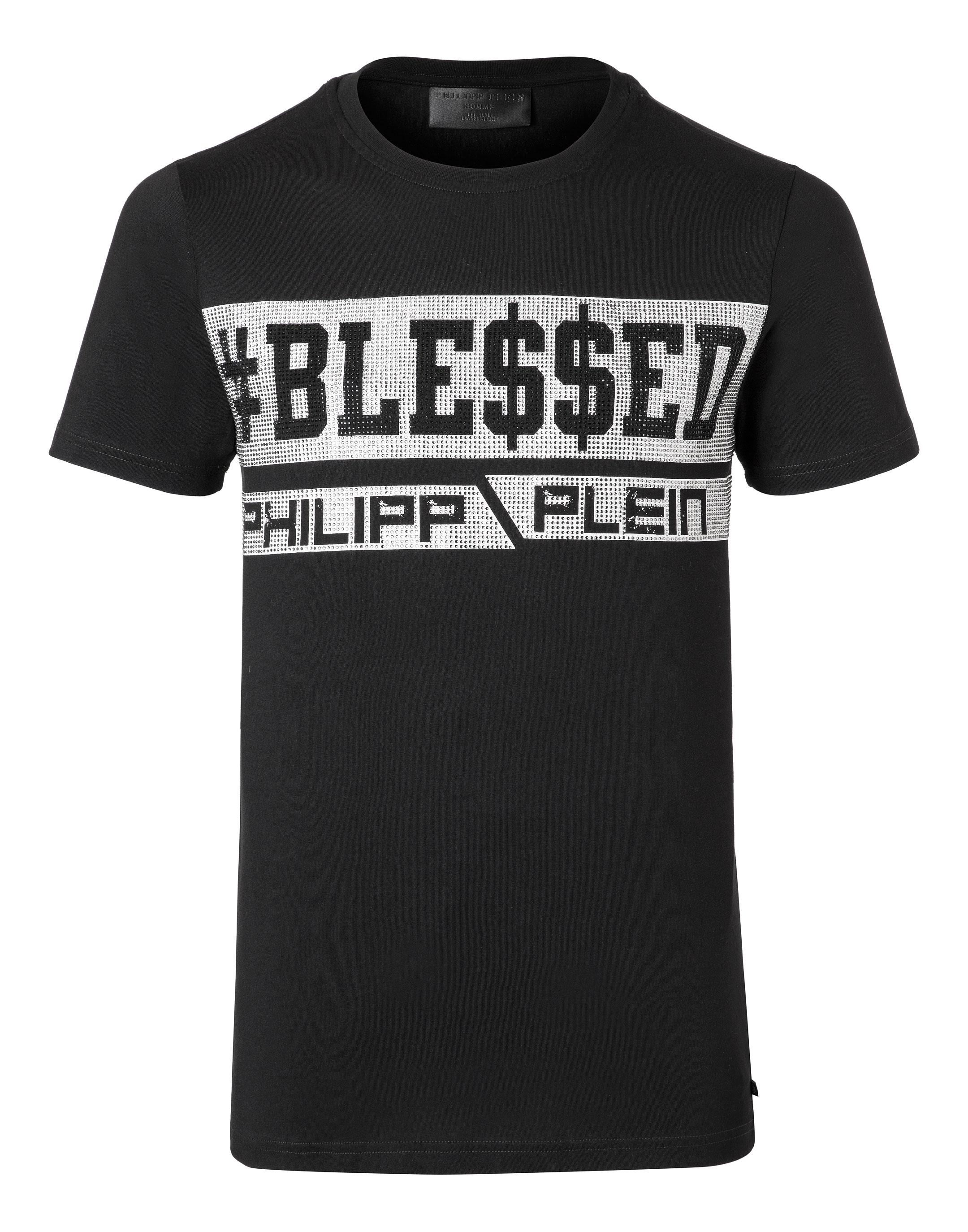 PHILIPP PLEIN. T-shirt Round Neck SS