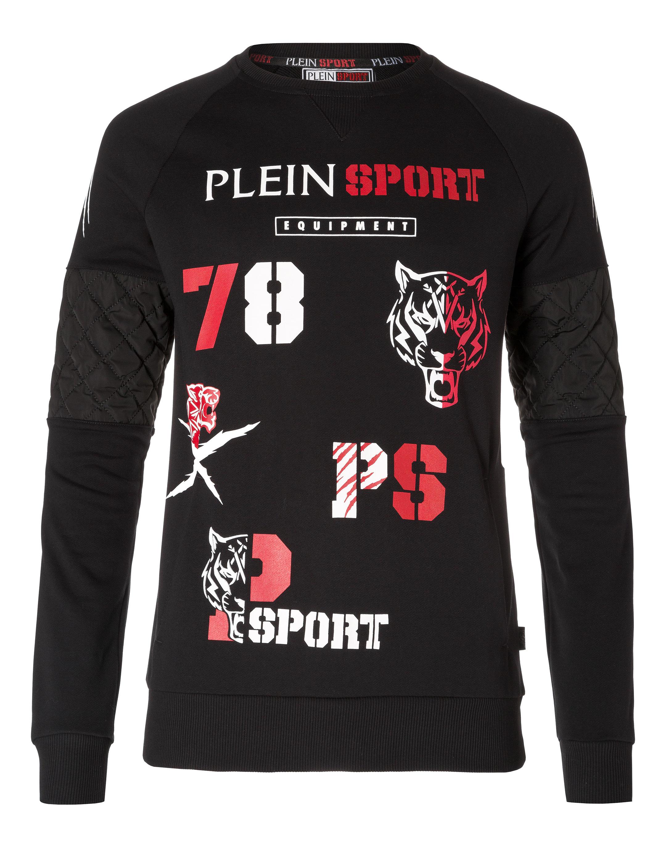 PLEIN SPORT. Sweatshirt LS